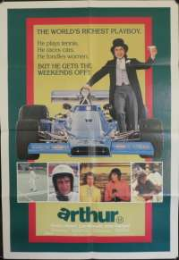 Arthur Dudley Moore Australian One Sheet movie poster