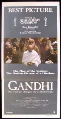 Gandhi Daybill Movie poster