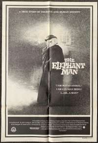 Elephant Man, The One Sheet Australian Movie poster