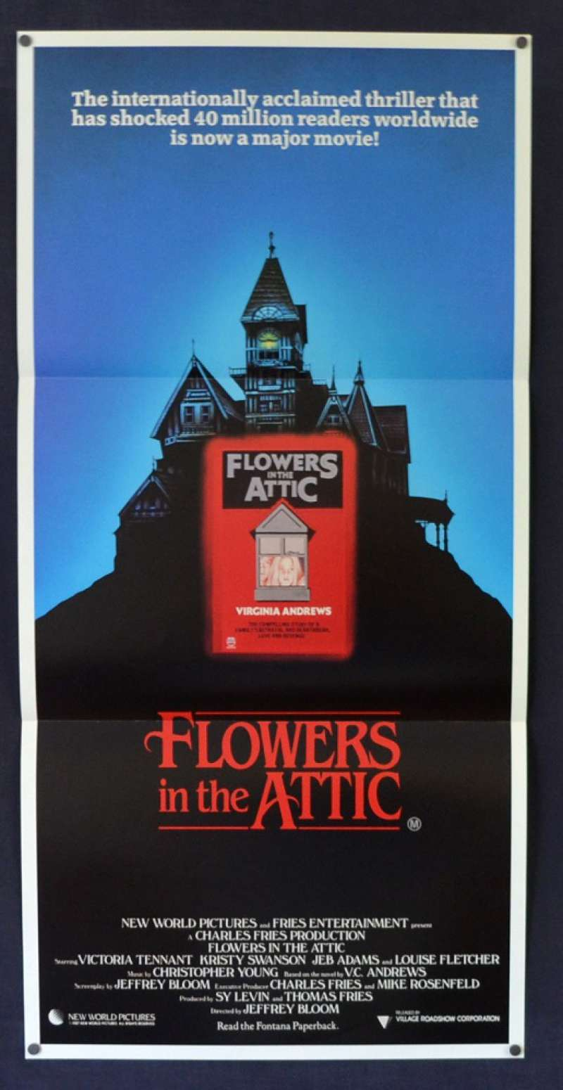 All About Movies Flowers In The Attic 1987 Daybill Movie