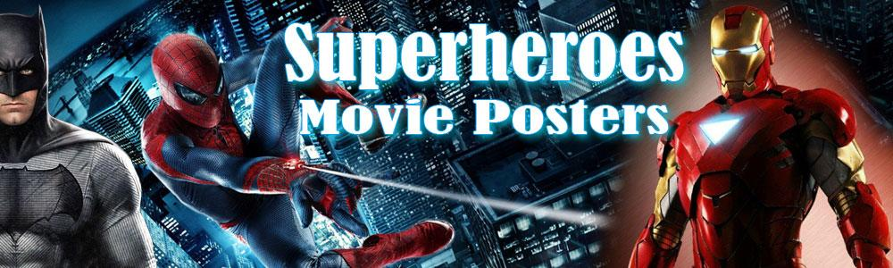 superheroes movie posters