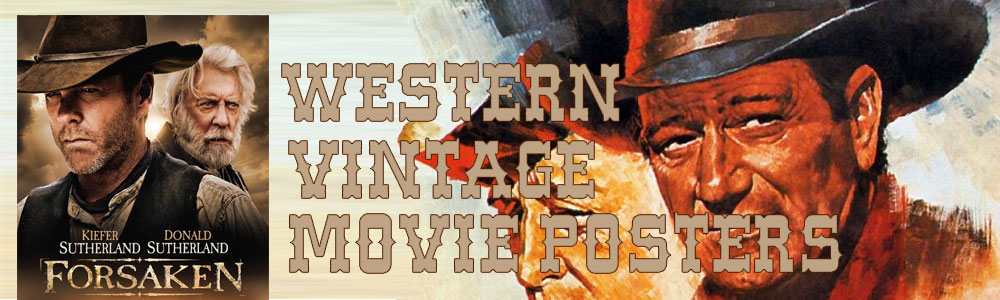 Western Movie Posters Original