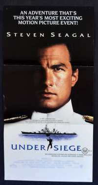 Under Siege Poster Original Daybill 1992 Steven Seagal Tommy Lee Jones