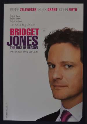 Bridget Jones: The Edge of Reason 2004 One Sheet Advance Rolled movie poster Colin Firth
