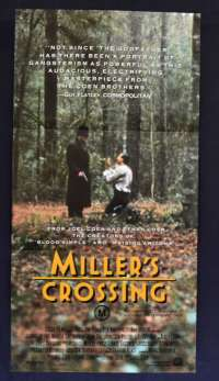 Miller's Crossing 1990 movie poster Daybill Gaybriel Byrne Coen Brothers