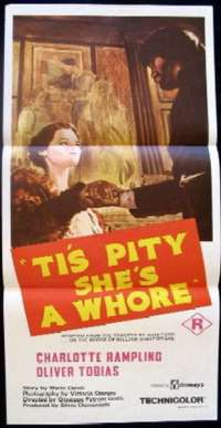 Ti's Pity She's A Whore Daybill Movie poster