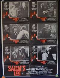 Salem's Lot 1979 Australian Photosheet movie poster David Soul Tobe Hooper