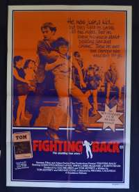 Fighting Back 1982 One Sheet movie poster Lewis Fitz-Gerald Paul Smith
