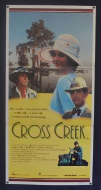 Cross Creek 1983 Daybill movie poster Mary Steenburgen Rip Torn