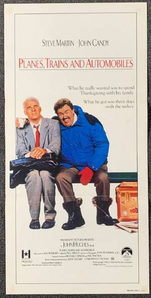 Planes Trains And Automobiles Poster Original Daybill Steve Martin John Candy