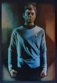 Star Trek Crew One Sheet poster Commercial Bones McCoy Struzan Art