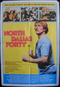 North Dallas Forty One Sheet Australian Movie poster