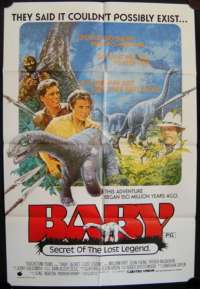 Baby: Secret Of The Lost Legend One Sheet Australian Movie poster