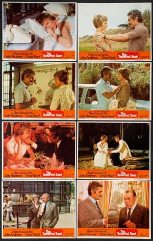The Tamarind Seed Lobby Card Set Original 1974 Julie Andrews Omar Sharif