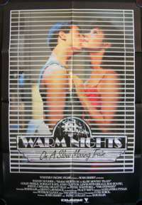 Warm Nights On A Slow Moving Train Wendy Hughes Colin Friels One Sheet movie poster