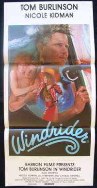 Windrider Daybill movie poster Nicole Kidman Tom Burlinson