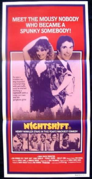 Nightshift Daybill Movie poster Henry Wrinkler