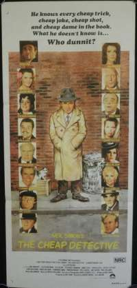 Cheap Detective, The Daybill Movie poster