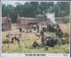 The Land That Time Forgot Lobby Card No 2 Original 1975 Doug McClure
