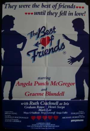 The Best Of Friends Movie Poster Original One Sheet 1982 Graeme Blundell