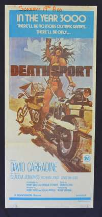 Deathsport Daybill movie poster Biker