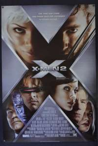 X-Men 2 Poster Original One Sheet Style B 2003 Hugh Jackman Superhero