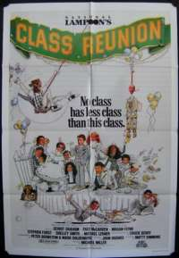 Class Reunion One Sheet Australian Movie poster