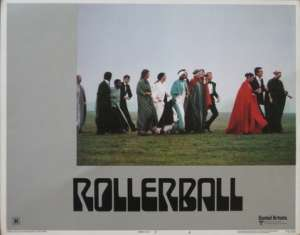 Rollerball 1975 Lobby Card Original USA 11 x 14 No 4 James Cann