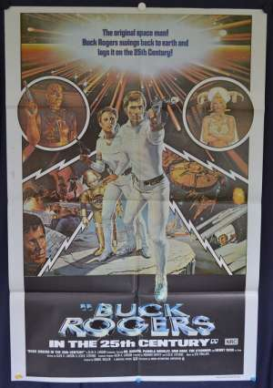 Buck Rogers In The 25th Century 1979 Gil Gerard One Sheet movie poster