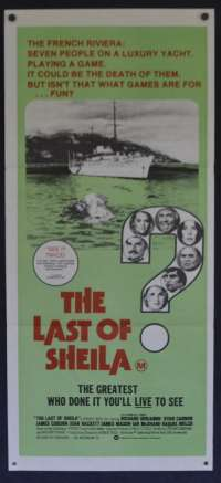 Last Of Sheila, The Daybill Movie poster