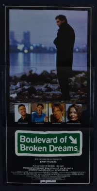Boulevard Of Broken Dreams Movie Poster Original Daybill John Waters