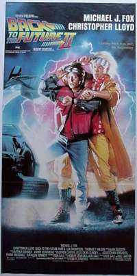 Back To the Future 2 Daybill Movie Poster