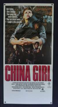 China Girl Daybill movie poster David Caruso James Russo