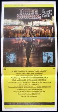 Times Square Daybill Movie poster