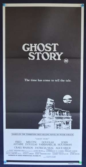 Ghost Story 1981 Daybill movie poster Fred Astair Melvyn Douglas