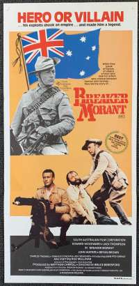 Breaker Morant 1980 Daybill movie poster Bruce Beresford Jack Thompson