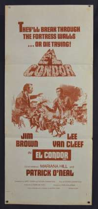 El Condor Daybill movie poster
