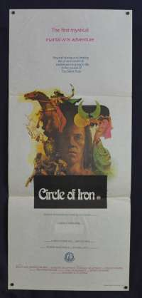 Circle Of Iron aka Silent Flute 1979 Daybill movie poster David Carridine Bruce Lee