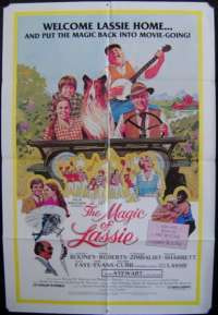 Magic Of Lassie, The One Sheet Australian Movie poster