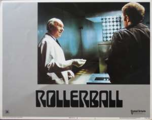Rollerball 1975 Lobby Card Original USA 11 x 14 No 1 James Cann