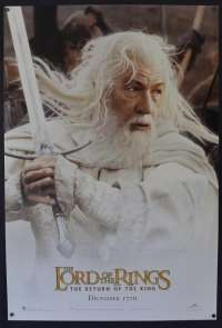 Lord Of The Rings Return Of The King One Sheet movie poster USA rolled Gandalf art