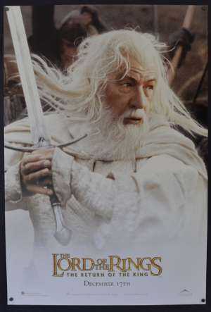 Lord Of The Rings Return Of The King One Sheet Poster USA Rolled Gandalf Art