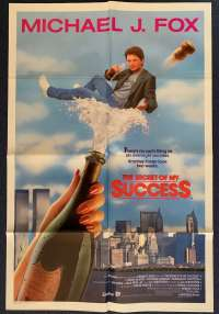 The Secret Of My Success One Sheet Movie poster