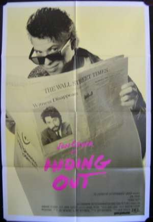 Hiding Out One Sheet Australian Movie poster