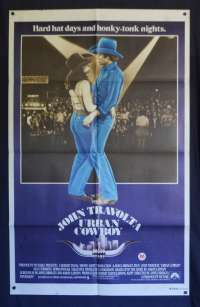 Urban Cowboy Poster Original One Sheet 1980 John Travolta Debra Winger