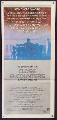 Close Encounters Of The Third Kind Daybill Poster 1980 Special Edition