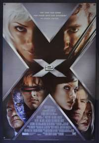 X-Men 2 Poster Original USA One Sheet Style B 2003 Hugh Jackman Superhero
