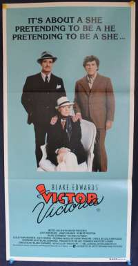 Victor Victoria Julie Andrews James Garner Daybill movie poster