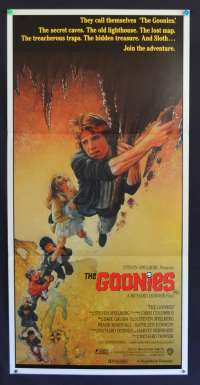 The Goonies Daybill Movie Poster