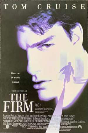 The Firm Movie Poster Original Daybill Rolled 1993 Tom Cruise Gene Hackman